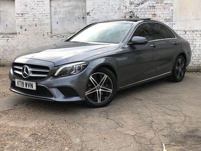 Mercedes-Benz C Class Saloon 1.5 C200 EQ Boost Sport (Premium Plus) G-Tronic+ (s/s) 4dr