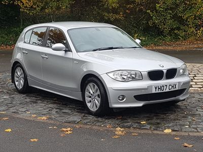 BMW 1 Series Hatchback 2.0 120d SE Auto 5dr