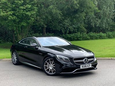 Mercedes-Benz S Class Coupe 5.5 S63 V8 AMG S SpdS MCT (s/s) 2dr