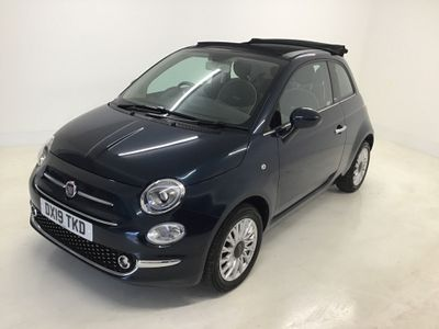Fiat 500C Convertible 1.2 8V Lounge (s/s) 2dr
