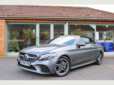 Mercedes-Benz C Class Convertible 1.5 C200 EQ Boost AMG Line (Premium) Cabriolet G-Tronic+ (s/s) 2dr