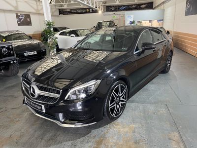 Mercedes-Benz CLS Coupe 3.5 CLS400 V6 AMG Line G-Tronic+ (s/s) 4dr