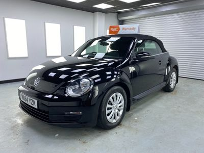 Volkswagen Beetle Convertible 1.6 TDI BlueMotion Tech Cabriolet 2dr