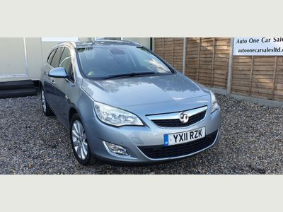 Vauxhall Astra Estate 1.4 i 16v Turbo SE 5dr