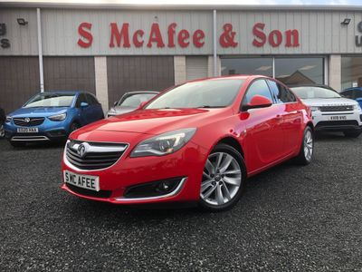 Vauxhall Insignia Hatchback 2.0 CDTi BlueInjection SRi Nav (s/s) 5dr