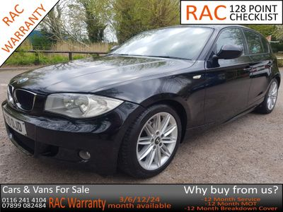 BMW 1 Series Hatchback 2.0 120d M Sport 5dr
