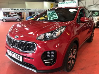 Kia Sportage SUV 1.7 CRDi GT-Line Edition DCT (s/s) 5dr