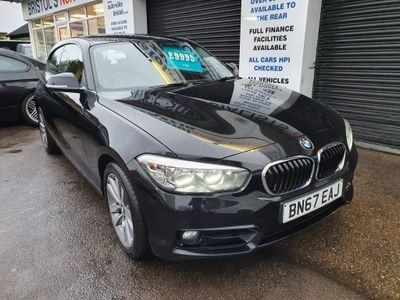 BMW 1 Series Hatchback 1.5 116d Sport Sports Hatch (s/s) 3dr
