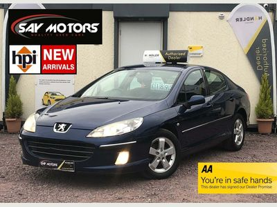 Peugeot 407 Saloon 1.6 HDi SE 4dr