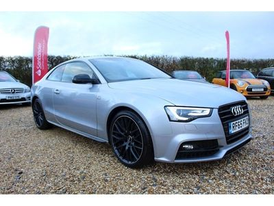 Audi A5 Coupe 2.0 TDI Black Edition Plus (s/s) 2dr