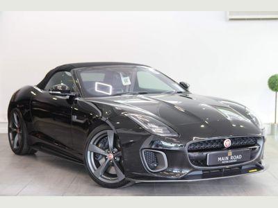 Jaguar F-Type Convertible 3.0 V6 400 Sport Auto (s/s) 2dr