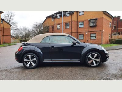 Volkswagen Beetle Convertible 1.6 TDI BlueMotion Tech Design Cabriolet DSG 2dr