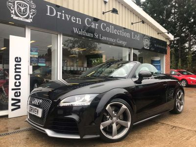Audi TT RS Convertible 2.5 Plus Roadster S Tronic quattro 2dr