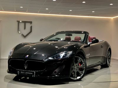 Maserati GranCabrio Convertible 4.7 V8 Sport MC Shift 2dr