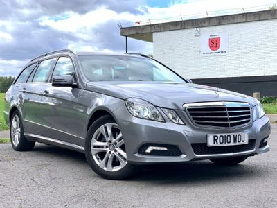 Mercedes-Benz E Class Estate 1.8 E200 BlueEFFICIENCY Avantgarde Auto 5dr