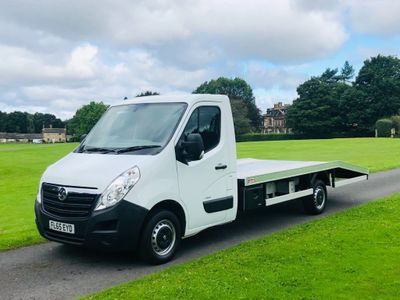 Vauxhall Movano Chassis Cab 2.3 CDTi 3500 Chassis Cab 2dr Diesel Manual FWD L3 H1 EU5 (125 ps)