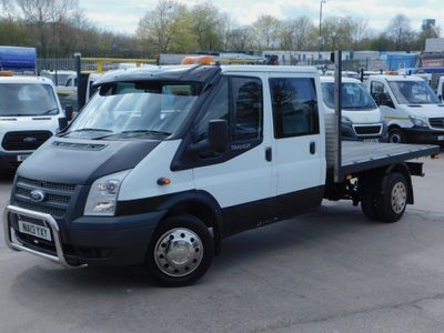 Ford Transit Unlisted 2.0TDCI T350 FLAT BED REAR STORAGE