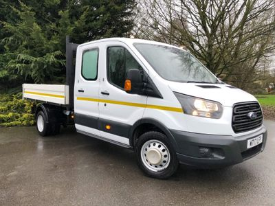 Ford Transit Tipper 2.0 350 EcoBlue 1-Way Double Cab Tipper RWD L3 EU6 4dr (1-Stop)