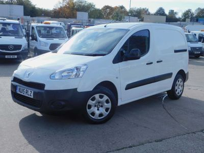 PEUGEOT PARTNER Panel Van 1.6HDI S 850 L1 LOW MILES F/S/H