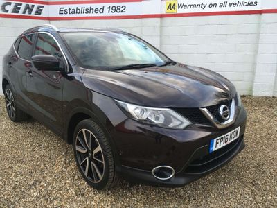 Nissan Qashqai SUV 1.6 dCi Tekna 4WD 5dr (Glass Roof, 17in Alloys)