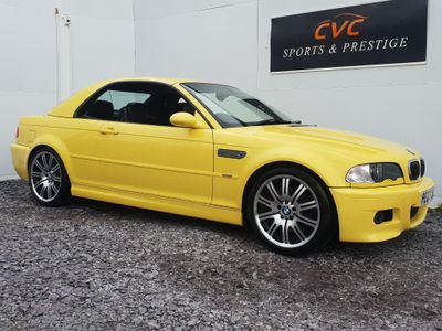 BMW M3 Convertible 3.2 2dr