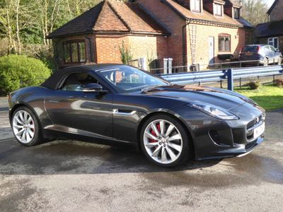 Jaguar F-Type Convertible 3.0 V6 S Quickshift 2dr