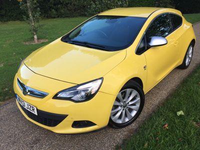 Vauxhall Astra GTC Coupe 1.6T 16V SRi 3dr