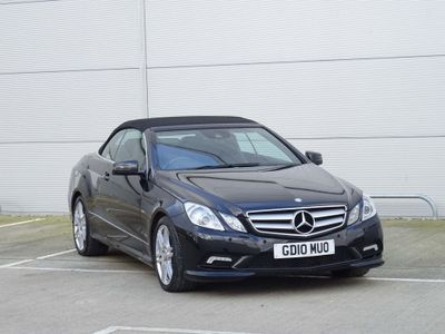 Mercedes-Benz E Class Convertible 3.0 E350 CDI BlueEFFICIENCY Sport Cabriolet 2dr