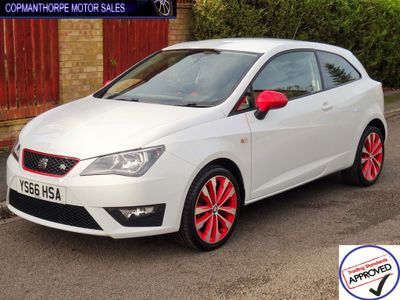 SEAT Ibiza Hatchback 1.2 TSI FR Red Edition Technology SportCoupe 3dr
