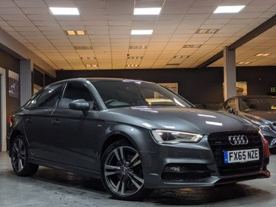 Audi A3 Saloon 2.0 TDI S line S Tronic quattro (s/s) 4dr