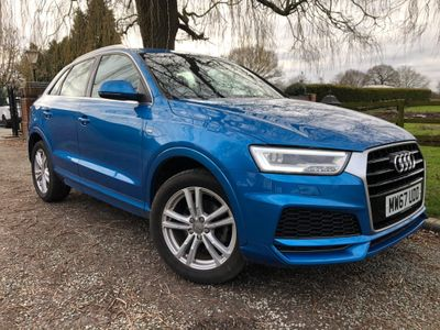Audi Q3 SUV 1.4 TFSI CoD S line Edition (s/s) 5dr