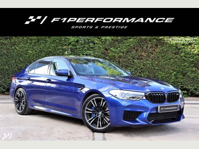 BMW M5 Saloon 4.4 V8 Steptronic xDrive (s/s) 4dr