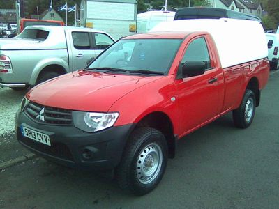 Mitsubishi L200 Pickup 2.5 DI-D CR 4Work Single Cab 4WD 2dr (EU5)