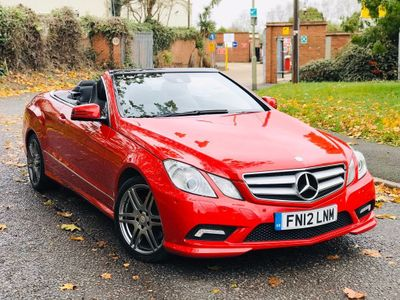 Mercedes-Benz E Class Convertible 2.1 E220 CDI BlueEFFICIENCY Sport Edition 125 Cabriolet (s/s) 2dr
