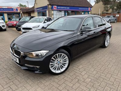 BMW 3 Series Saloon 2.0 318d Luxury 4dr