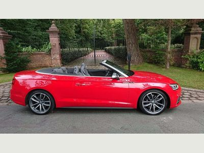 AUDI S5 Convertible 3.0 TFSI V6 Cabriolet Tiptronic quattro (s/s) 2dr