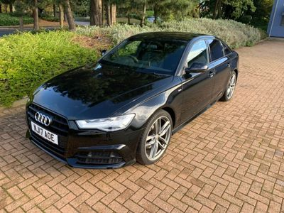 Audi A6 Saloon Saloon 2.0 TDI Black Edition S Tronic quattro (s/s) 4dr