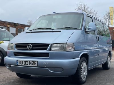 Volkswagen Caravelle MPV 2.5 TD Bus 4dr (8 Seats)