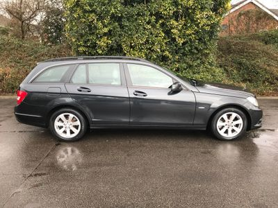 Mercedes-Benz C Class Estate 2.1 C220 CDI BlueEFFICIENCY SE Edition 125 G-Tronic 5dr