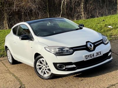 Renault Megane Coupe 1.5 dCi ENERGY Limited (s/s) 3dr