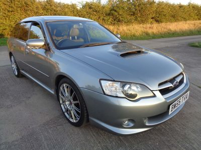 Subaru Legacy Estate 2.0GT BP5 Spec B Tuned by STi Twinscroll