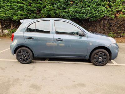 Nissan Micra Hatchback 1.2 Visia 5dr