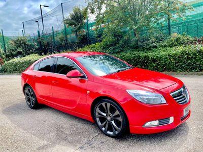 Vauxhall Insignia Hatchback 2.0 CDTi SRi VX line Red Nav 5dr