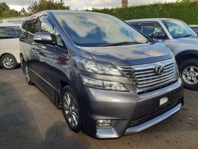 Toyota Vellfire MPV 2.4 Z Platinum Selection