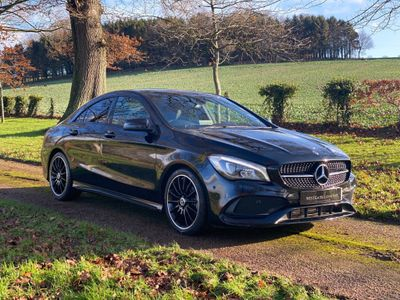 Mercedes-Benz CLA Class Coupe 1.6 CLA200 AMG Line Night Edition (Plus) (s/s) 4dr