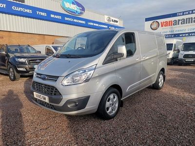 Ford Transit Custom Panel Van 270 Limited Lr P/V L1h1