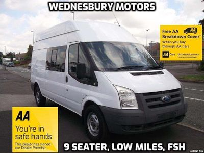 FORD TRANSIT Panel Van 2.4 TDCi 350 LWB High Roof Duratorq 3dr