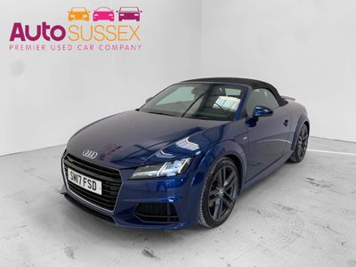 Audi TT Convertible 2.0 TDI S line Roadster S Tronic quattro (s/s) 2dr