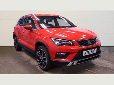 SEAT Ateca SUV 1.4 EcoTSI XCELLENCE DSG (s/s) 5dr