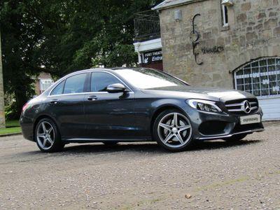 Mercedes-Benz C Class Saloon 1.6 C200 CDI BlueTEC AMG Line G-Tronic+ (s/s) 4dr